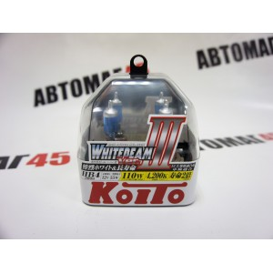 KOITO лампа WhiteBeam3 НВ4 9006 12V 55W 4200K 2шт