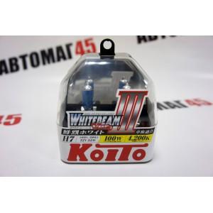 KOITO лампа WhiteBeam3 Н7 12V 55W 4200 2шт
