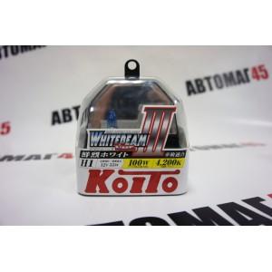 KOITO лампа WhiteBeam3 Н1 12V 55W 4200K 2шт