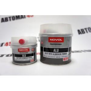 NOVOL шпатлевка ALU c алюминиевой пылью 0,25кг