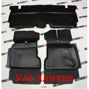 Locker Коврики в салон УАЗ Hunter Хантер комплект 3 части полиуретан