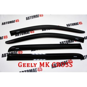 ANVair дефлекторы окон Geely MK Cross комплект 4шт