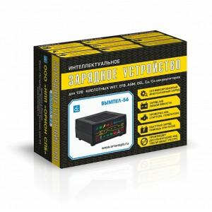 Вымпел-56 НПП Орион СПБ зарядное устройство для АКБ 20А интеллектуальное с диагностикой АКБ стартера и генератора автомат оригинал гарантия 1год