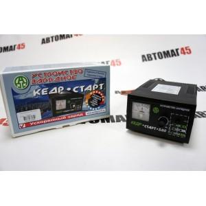 Кедр-старт зарядное устройство для АКБ S80 12В автомат ускоренный заряд трансформаторный гарантия 2года