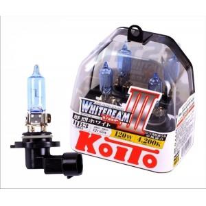 KOITO лампа WhiteBeam3 НВ3 9005 12V 55W 4200K 2шт