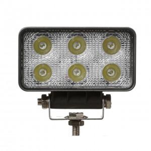 Allroad фара светодиодная 6000К 1200Lm 10-30V  6 диодов 18Вт рабочий свет 1шт гарантия 3 мес