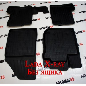 Ковры LADA X-Ray оптима без ящика комплект 4шт