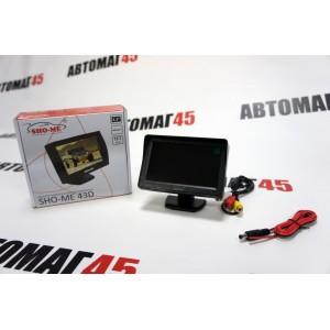 """Sho-Me Монитор 43D универсальный автомобильный 4,3"""" 480x72"""
