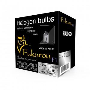 Fukurou F1 лампа Н1 12V 55W (115W) Корея 2шт