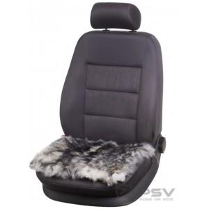 PSV Extra Накидка-подушка на сиденье длинный ворс палевый 45х45см