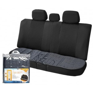 AirLine накидка с подогревом на заднее сиденье 35Вт черная гарантия 1 год