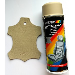 Motip краска для кожи бежевая матовая аэрозоль 200мл