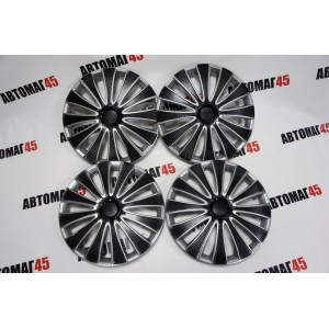 STAR колпаки R16 GMK Super Black комплект 4шт