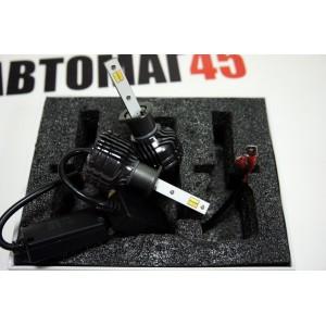 Sariti F5 чип CSP LED 2шт Н1 12-24В 20W 3000K 6000K 3000Lm с обманкой гарантия 6мес
